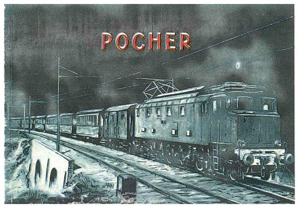 Pocher katalog 1952