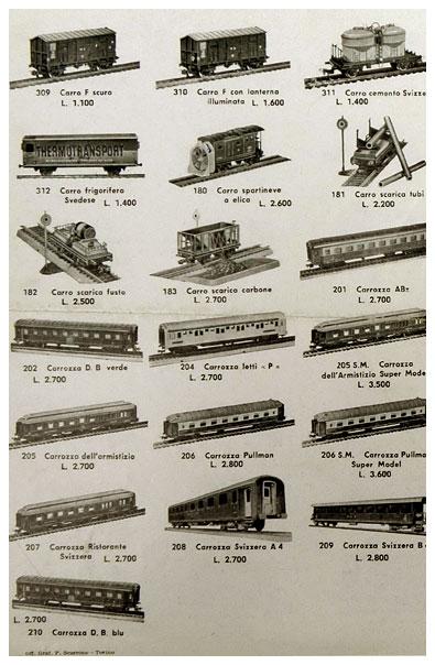 Pocher katalog 1957