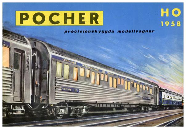 Pocher katalog 1958